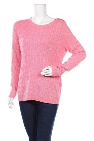 Γυναικείο πουλόβερ Talbots, Μέγεθος L, Χρώμα Ρόζ , 70% πολυαμίδη, 30% μαλλί, Τιμή 9,06€