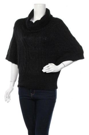 Дамски пуловер Tally Weijl, Размер M, Цвят Черен, Акрил, Цена 5,80лв.