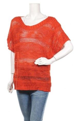 Дамски пуловер Target, Размер M, Цвят Оранжев, Акрил, Цена 6,30лв.