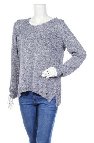 Дамски пуловер Tchibo, Размер L, Цвят Син, Полиакрил, Цена 8,09лв.