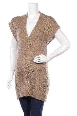 Дамски пуловер The Original, Размер S, Цвят Бежов, 70% акрил, 30% вълна, Цена 7,09лв.
