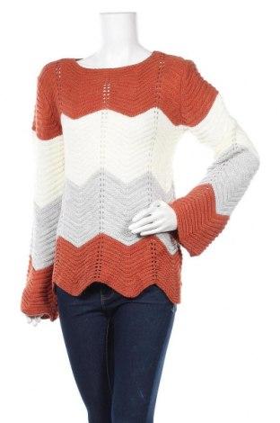 Дамски пуловер Today, Размер XL, Цвят Многоцветен, Акрил, Цена 15,23лв.