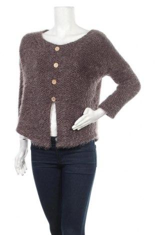 Дамски пуловер Today, Размер S, Цвят Сив, 95% вискоза, 5% еластан, Цена 6,56лв.