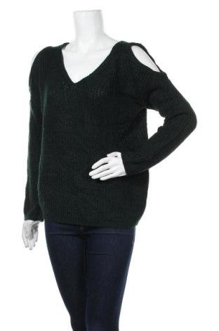 Γυναικείο πουλόβερ U2B, Μέγεθος M, Χρώμα Πράσινο, Τιμή 19,12€