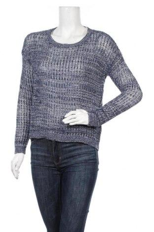 Дамски пуловер United Colors Of Benetton, Размер XS, Цвят Син, 50% памук, 50% акрил, Цена 6,56лв.