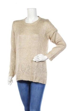 Γυναικείο πουλόβερ Up 2 Fashion, Μέγεθος L, Χρώμα  Μπέζ, 59% πολυεστέρας, 41% πολυακρυλικό, Τιμή 5,91€