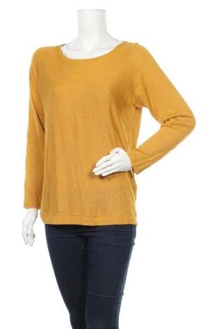 Дамски пуловер Vero Moda, Размер M, Цвят Жълт, Вискоза, Цена 21,74лв.