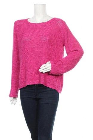 Дамски пуловер Vero Moda, Размер XL, Цвят Розов, 65% акрил, 35% полиамид, Цена 10,29лв.