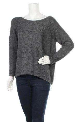 Γυναικείο πουλόβερ Vestino, Μέγεθος L, Χρώμα Γκρί, 75%ακρυλικό, 10% βισκόζη, 10% μαλλί, 5% μαλλί από αλπακά, Τιμή 15,46€