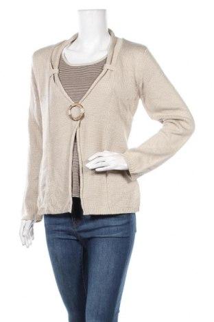 Γυναικείο πουλόβερ Via Appia, Μέγεθος L, Χρώμα  Μπέζ, 95% πολυακρυλικό, 5% βαμβάκι, Τιμή 14,94€