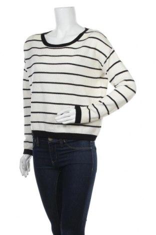 Дамски пуловер Vila, Размер M, Цвят Бял, 55% памук, 45% акрил, Цена 12,60лв.
