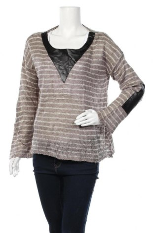 Дамски пуловер Vintage Havana, Размер S, Цвят Сив, Акрил, Цена 4,62лв.