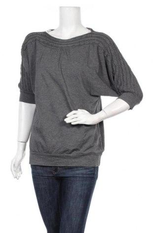 Дамски пуловер Woman By Tchibo, Размер M, Цвят Сив, 50% памук, 45% вискоза, 5% еластан, Цена 5,67лв.
