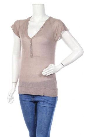 Дамски пуловер Wrap, Размер XS, Цвят Бежов, 57% вискоза, 43% памук, Цена 5,45лв.