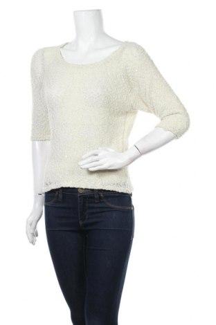 Γυναικείο πουλόβερ Yes Or No, Μέγεθος XS, Χρώμα Εκρού, Πολυεστέρας, Τιμή 12,86€