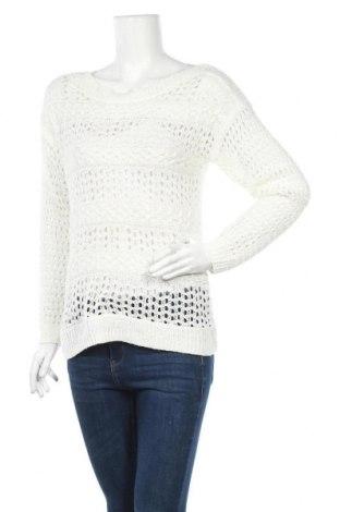 Дамски пуловер Yessica, Размер M, Цвят Бял, Цена 6,83лв.