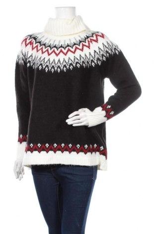Дамски пуловер Yessica, Размер L, Цвят Черен, 68% акрил, 30% полиестер, 2% еластан, Цена 16,38лв.