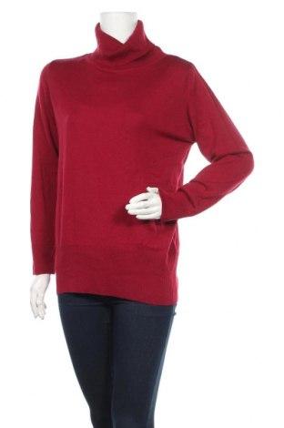 Дамски пуловер Your Sixth Sense, Размер L, Цвят Червен, Мерино, Цена 27,30лв.