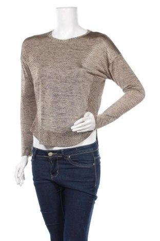 Дамски пуловер Zara, Размер S, Цвят Бежов, Цена 12,86лв.
