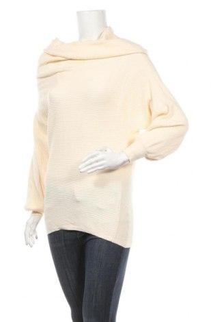 Дамски пуловер Zara Knitwear, Размер M, Цвят Жълт, Цена 11,03лв.
