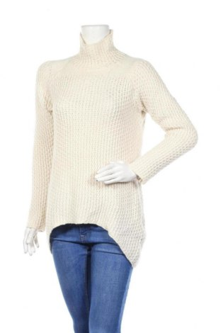 Дамски пуловер Zara Knitwear, Размер M, Цвят Екрю, Цена 16,80лв.