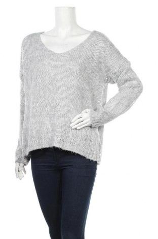 Дамски пуловер Zebra, Размер M, Цвят Сив, Цена 16,38лв.