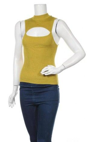 Дамски пуловер Zebra, Размер S, Цвят Жълт, 70% вискоза, 30% полиамид, Цена 6,30лв.