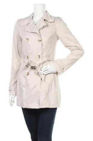 Дамски шлифер Pimkie, Размер S, Цвят Бежов, 65% полиестер, 35% памук, Цена 44,10лв.