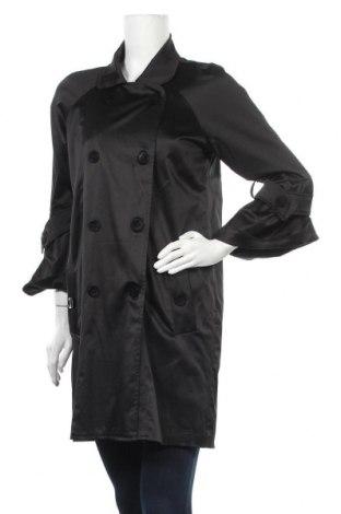 Дамски шлифер Rinascimento, Размер M, Цвят Черен, Цена 16,74лв.