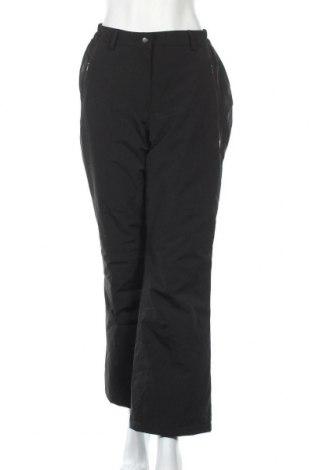 Γυναικείο αθλητικό παντελόνι Ulla Popken, Μέγεθος L, Χρώμα Μαύρο, Τιμή 22,80€
