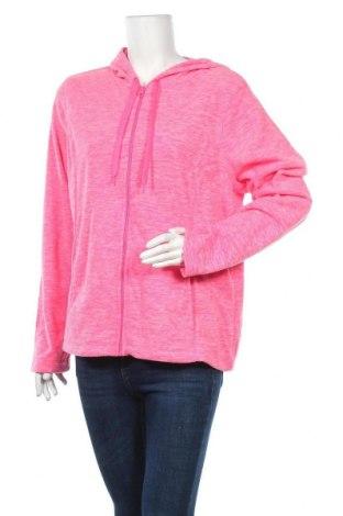 Γυναικείο φούτερ Athletic Works, Μέγεθος XL, Χρώμα Ρόζ , Πολυεστέρας, Τιμή 8,18€