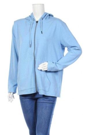 Γυναικείο φούτερ New View, Μέγεθος XXL, Χρώμα Μπλέ, 50% βαμβάκι, 50% πολυεστέρας, Τιμή 18,70€