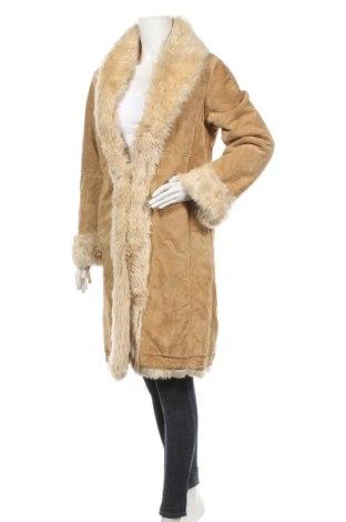 Δερμάτινο γυναικείο παλτό Wilsons Leather, Μέγεθος M, Χρώμα  Μπέζ, Γνήσιο δέρμα, Τιμή 46,76€