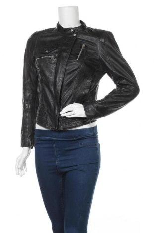 Γυναικείο δερμάτινο σακάκι Freaky Nation, Μέγεθος S, Χρώμα Μαύρο, Γνήσιο δέρμα, Τιμή 59,23€