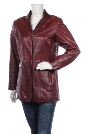 Γυναικείο δερμάτινο σακάκι Mauritius, Μέγεθος M, Χρώμα Κόκκινο, Γνήσιο δέρμα, Τιμή 50,48€