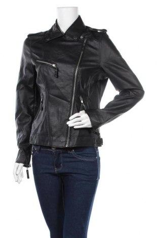 Дамско кожено яке Infinity Woman, Размер M, Цвят Черен, Еко кожа, Цена 41,90лв.