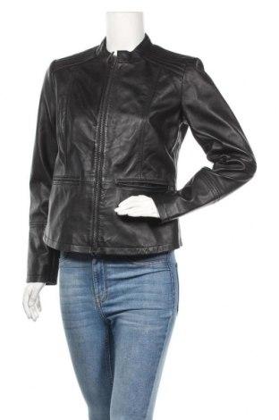 Дамско кожено яке Jcc, Размер S, Цвят Черен, Естествена кожа, Цена 89,25лв.