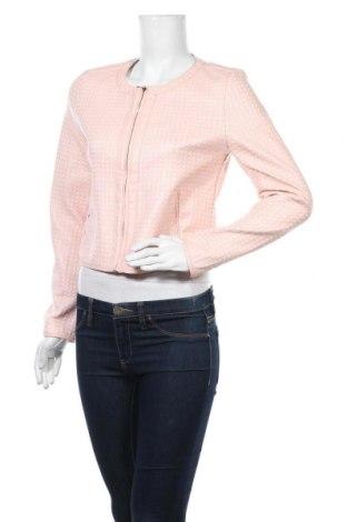 Дамско кожено яке Laura Jo, Размер M, Цвят Розов, Еко кожа, текстил, Цена 18,43лв.