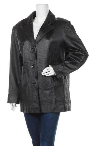 Γυναικείο δερμάτινο μπουφάν Outbrook, Μέγεθος L, Χρώμα Μαύρο, Γνήσιο δέρμα, Τιμή 15,22€