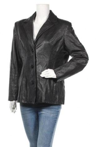 Γυναικείο δερμάτινο μπουφάν Wilsons Leather, Μέγεθος L, Χρώμα Μαύρο, Γνήσιο δέρμα, Τιμή 43,65€