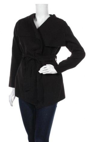 Дамско палто, Размер M, Цвят Черен, 70% полиестер, 30% вискоза, Цена 39,90лв.