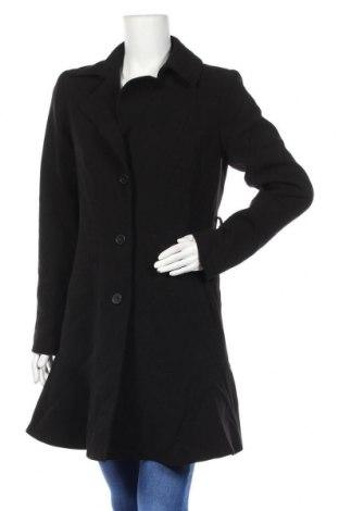 Дамско палто, Размер M, Цвят Черен, Цена 13,02лв.