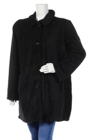 Дамско палто, Размер XL, Цвят Черен, Полиестер, Цена 11,55лв.
