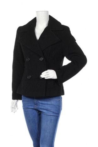 Дамско палто, Размер M, Цвят Черен, 70% вълна, 20% полиамид, 10% кашмир, Цена 12,60лв.
