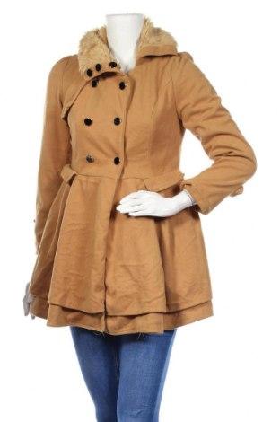 Дамско палто, Размер S, Цвят Кафяв, Цена 46,20лв.