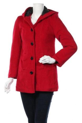 Дамско палто, Размер S, Цвят Червен, Цена 26,57лв.