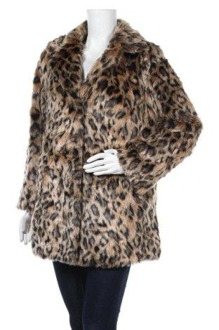 Дамско палто, Размер M, Цвят Многоцветен, Акрил, Цена 42,53лв.