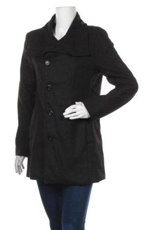 Дамско палто, Размер L, Цвят Черен, Цена 43,05лв.