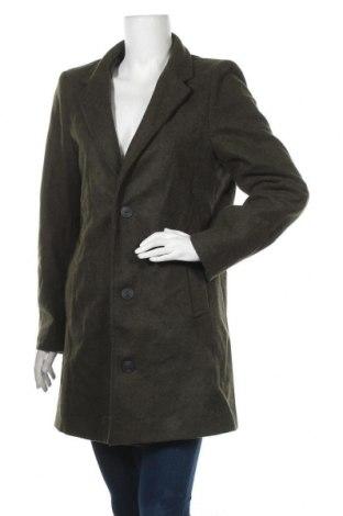 Дамско палто, Размер L, Цвят Зелен, Цена 15,12лв.