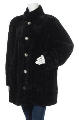 Дамско палто Alfredo Pauly, Размер XXL, Цвят Черен, Полиестер, Цена 43,37лв.